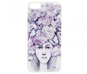 Hand-drawn Case For iPhone 5-Flower Princessss